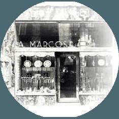 1942: se inaugura la joyería aurelio marcos