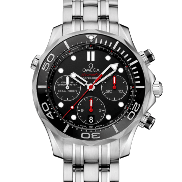 omega seamaster diver 300m 44 negro 2
