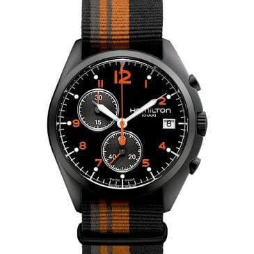 hamilton khaki aviation pilot pioneer chrono quartz 41 2