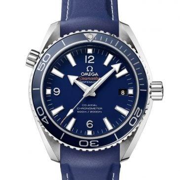 omega seamaster planet ocean 600m 42 azul