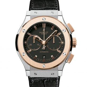 hublot classic fusion chronograph titanium/gold 45mm 3