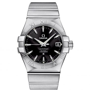 omega constellation steel 1
