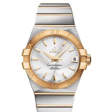 omega constellation 38 acero oro 1