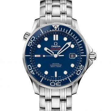 omega seamaster diver 300m 41 azul 2