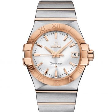 omega constellation 35 acero oro rosa 1