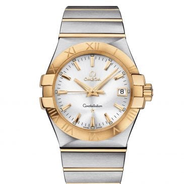 omega constellation 35 acero oro 1