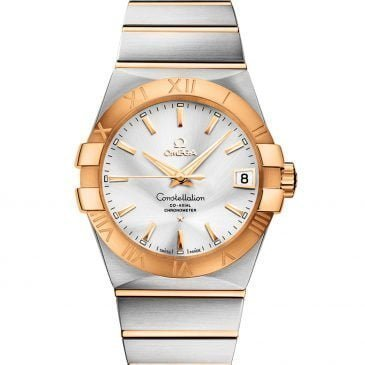 omega constellation 38 acero oro