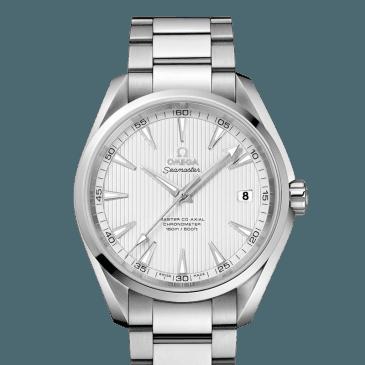 omega seamaster aqua terra 150m 41,5 plata 1