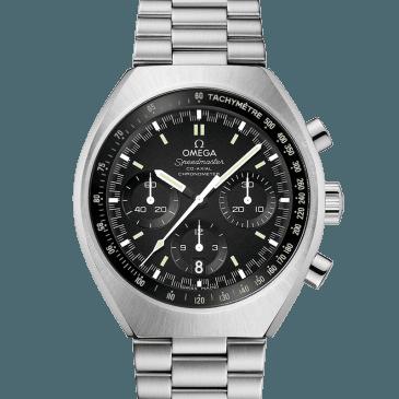 omega speedmaster mark ii 43 negro acero 1