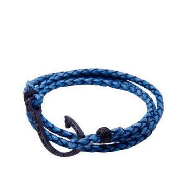 """pulsera """"blue fish hook"""" 2"""