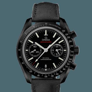 omega speedmaster 44 nylon negro 1