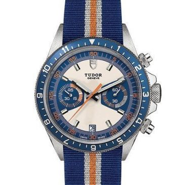 tudor heritage chrono blue