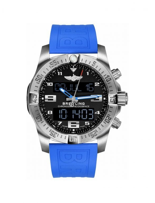 breitling exospace b55 ''blue hands'' 3