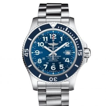 breitling superocean ii 44 acero satinado gun blue 2