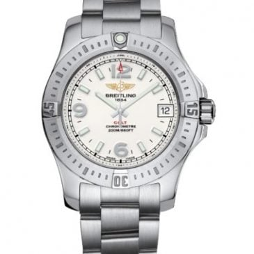 breitling colt 36 acero pearl diamond 2