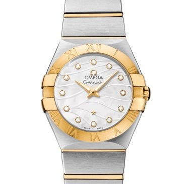 omega constellation 27 perla blanca diamantes 2