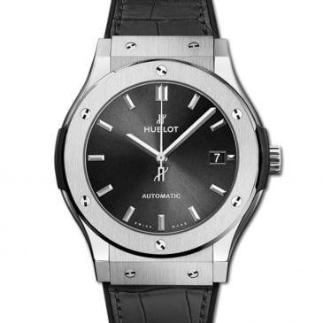 hublot classic fusion racing grey titanium 45mm