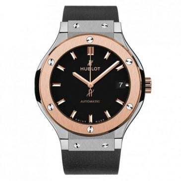 hublot classic fusion titanium king gold 38mm