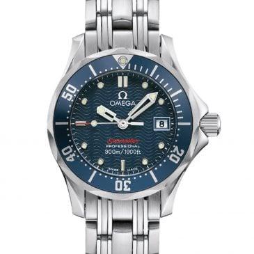 omega seamaster diver 300m 28 azul 2
