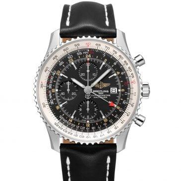 breitling navitimer 1 chronograph gmt 46 acero negro 4