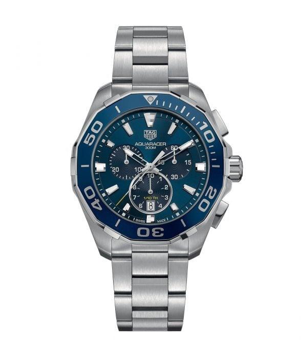 tag heuer aquaracer 300m chronograph 43mm