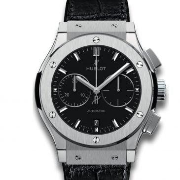 hublot classic fusion chronograph titanium 45mm 2