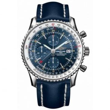 breitling navitimer 1 chronograph gmt 46 acero azul 1