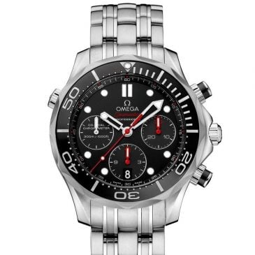 omega seamaster diver 300m 41,5 negro