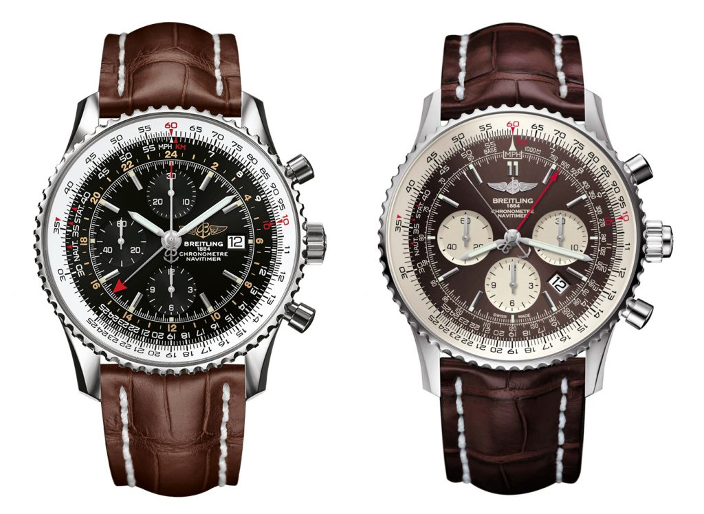 Navitimer World y Rattrapante