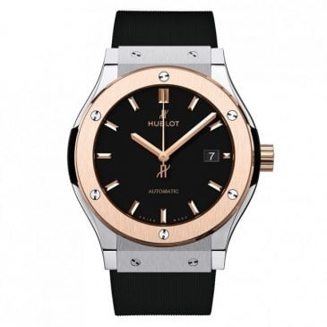 hublot classic fusion 45mm king gold