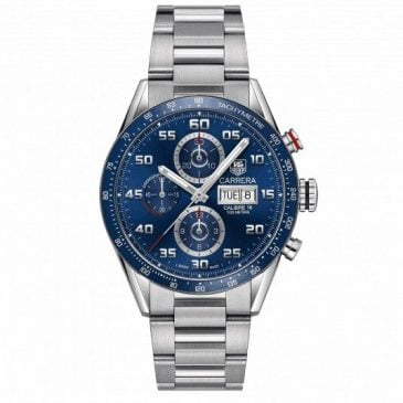 tag heuer carrera calibre 16 day date azul