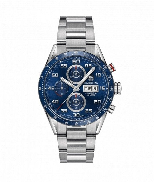 Tag heuer calibre 16 day-date azul