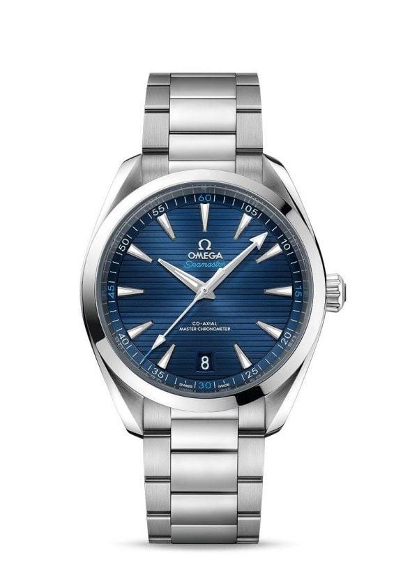 omega seamaster aqua terra 41 blau
