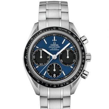 omega speedmaster racing 50 azul