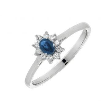 colgante zafiro y diamantes 1