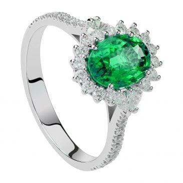 colgante zafiro y diamantes 2