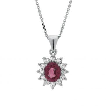 colgante zafiro y diamantes 16
