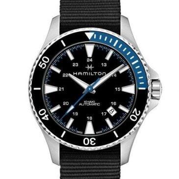 reloj hamilton khaki scuba auto h82315931