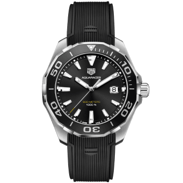 tag heuer aquaracer 43mm negro