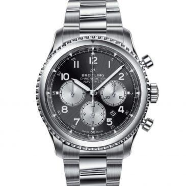 breitling navitimer 8 b01 chronograph 43 acero/satinado negro 1