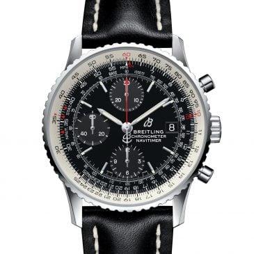 breitling navitimer 1 chronograph 41 acero negro