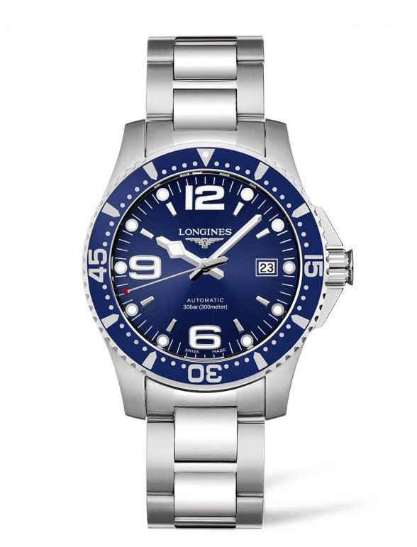 longines hydroconquest 41 azul 1