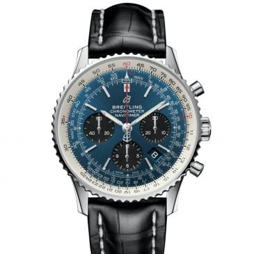 breitling navitimer 1 b01 chronograph 43 acero azul 2