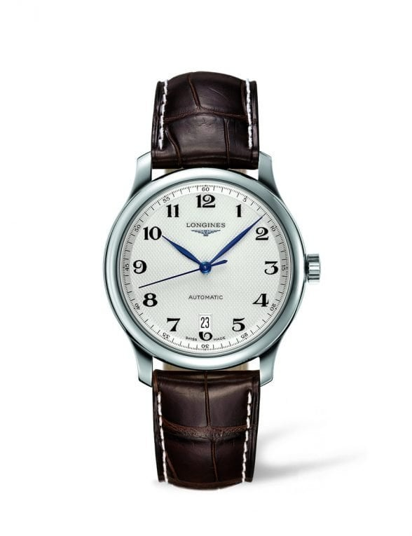 longines master collection 38,5 leather