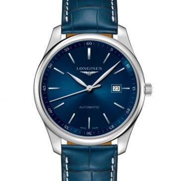 logines master collection 42 acero piel azul