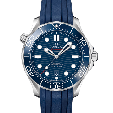 omega seamaster diver 300m 42 blue rubber