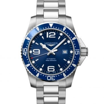 longines hydroconquest 44 blue