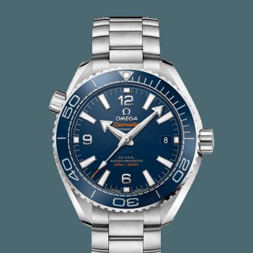 omega seamaster planet ocean 600m 39,5 azul