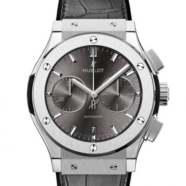 hublot classic fusion racing grey chronograph 45mm