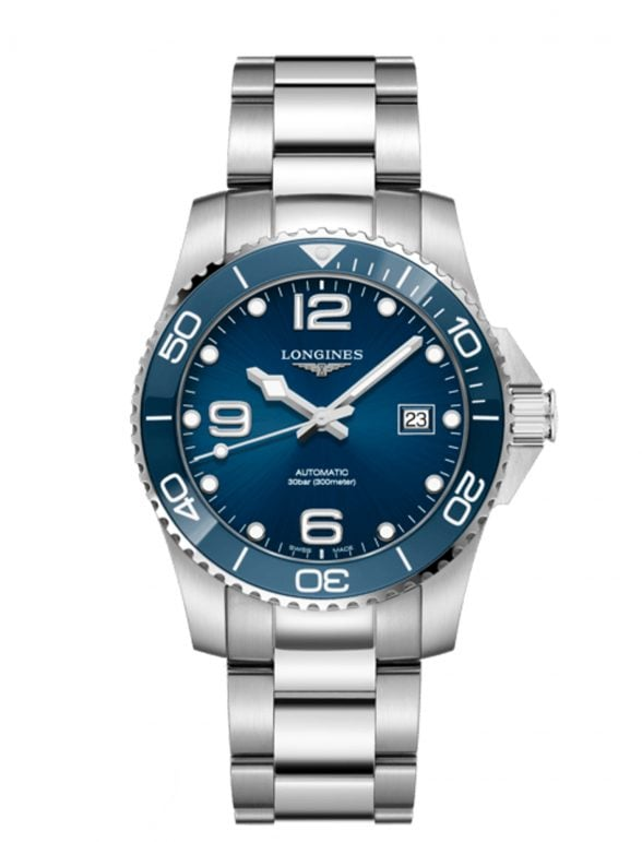 longines hydroconquest 41 azul